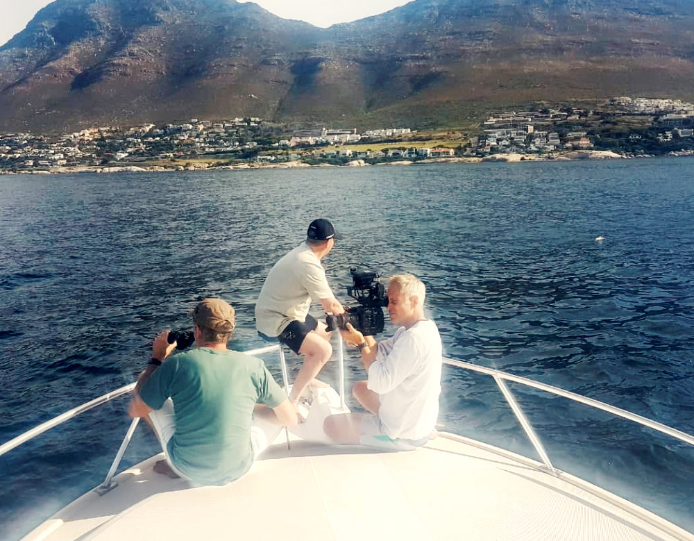 marine film production Cape Town